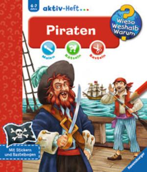 Ravensburger Piraten, Aktiv-Heft Wieso? Weshalb? Warum? ab 4 Jahren, 24x27 cm 66232694