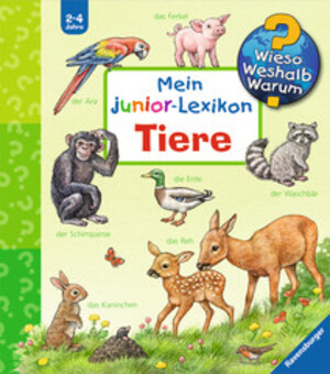 Ravensburger Mein Junior Lexikon Tiere Wieso? Weshalb? Warum? 2-4 Jahre, 18x19 cm 66232891