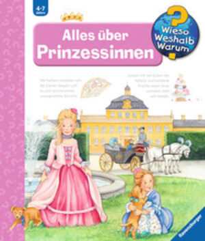 Ravensburger Alles über Prinzessinnen Wieso? Weshalb? Warum? ab 4 Jahren, 24x27 cm 66232894