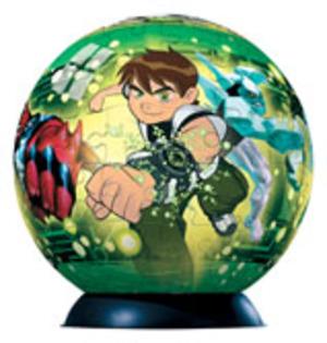 Ravensburger Puzzleball Ben 10Alien Force Verkaufskassette à 12St. 60Teile 845989