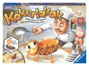 Ravensburger Kakerlakak *Empfohlen Kinderspiel 2013* RAV22212