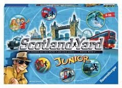 Ravensburger Scotland Yard Junior, d/f/i ab 6 Jahren, 2-4 Spieler, die Jagd nach Mister X 60522289
