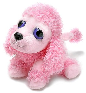 RUSS Peepers Pudel Hund pink S 13cm 21086286
