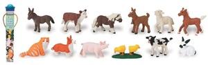 Safari Toobs Bauernhof Jungtiere (2) Inhalt: 12 Stück 7606812