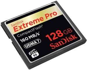 SanDisk ExtremePro 160MB/s CF 128GB SDCFXPS-128G-X46