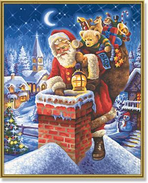 SCHIPPER Arts & Crafts Malen nach Zahlen - Weihnachtsbild 2014 609300682