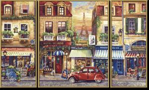 SCHIPPER Arts & Crafts Malen nach Zahlen - Paris Nostalgie (Triptychon) 61660626