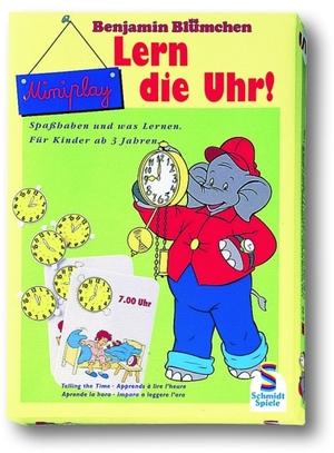 Schmidt Spiele Benjamin Blümchen, Lern die Uhr! 40321