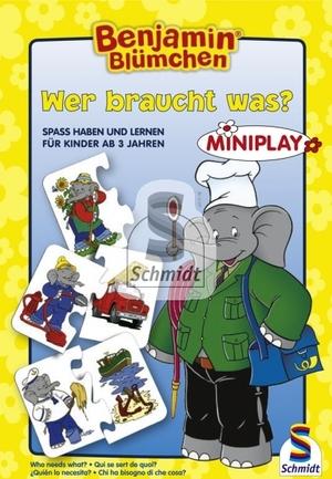 Schmidt Spiele Benjamin Blümchen, Wer braucht was? SV 4040323