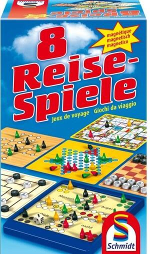 Schmidt Spiele 8 Reise-Spiele, magnetisch 49104