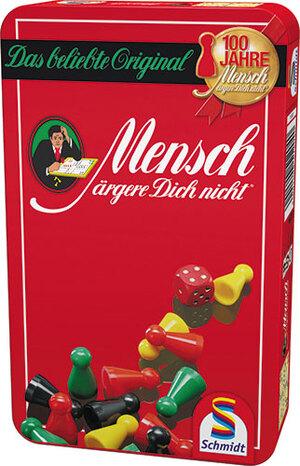 Schmidt Spiele Mensch ärgere Dich nicht (Metalldose) (d) 4051204