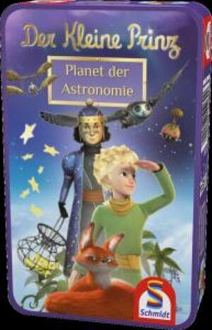 Schmidt Spiele Der kleine Prinz, Planet der Astronomie (Metalldose) (mult.) SV 51269