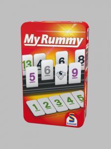 Schmidt Spiele Rummy in Metalldose 4051207