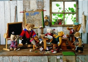 Teddy-Schule - Puzzles 500 Teile 57000