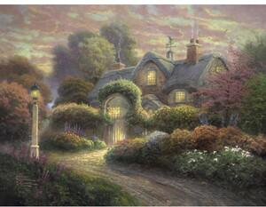 Schmidt Spiele Cottage im Rosengarten 1000 Teile 59466