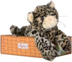 Sigikid Katze liegend - Rote Pfote chat - Pattes Rouges 37097