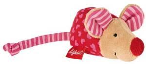 Sigikid Mini-Rassel Maus pink Red Stars ** 9049136