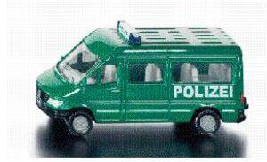 Siku Polizeibus 1:64, Metall, Plastik Siku 8049