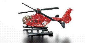 Siku Rettungs Hubschrauber 1:87, Metall, Plastik Siku 2743890
