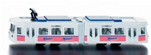 Siku Strassenbahn 1:87, Metall, Plastik Siku 1615A1