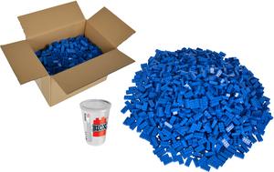 Simba Blox 500 blaue 8er Steine lose 104118925