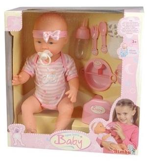 Simba New Born Baby Babypuppe 105039005