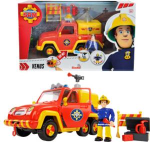 Simba Feuerwehrmann Sam Feuerwehrauto Venus mit Figur 109251054