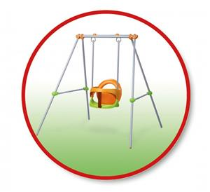 Smoby Metal Baby Swing 310046