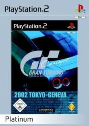 SONY Games PS2 GT Concept 2002 2050000H