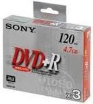 DVD+R 4,7GB Jewel Case 3 Stück 786682
