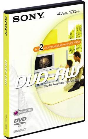 SONY SONY DVD-RW Videobox 4.7GB DMW120VD