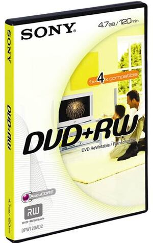 SONY DVD+RW Videobox 4.7GB DPW120VD