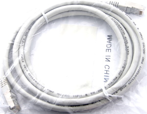 SPOTBUY Netzwerkkabel Kat. 6 PiMF grau 2.0m 21990802