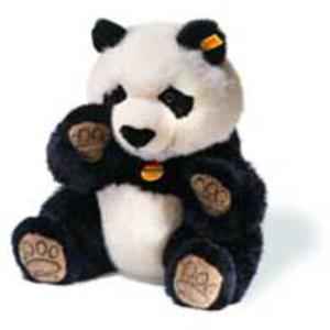 Steiff Manschli Panda schwarz/weiss 35 64821