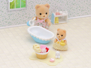 Sylvanian Families Baby Bath Time 2228