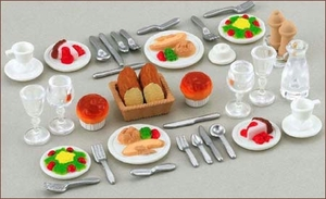 Sylvanian Families Dinner for Two Set 2818