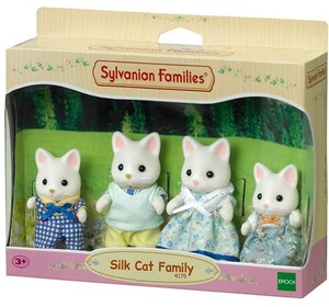 Sylvanian Families Silk Cat Family 4175