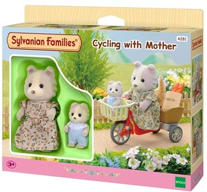 Sylvanian Families Cycling with Mother 4281A2