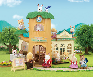 Sylvanian Families Country Tree School 5105A1