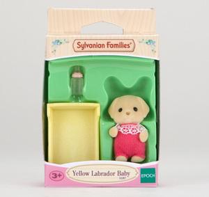 Sylvanian Families Yellow Labrador Baby 5187A1
