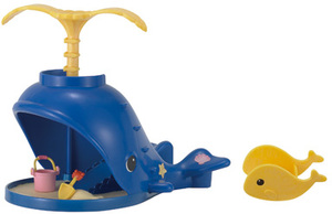 Sylvanian Families Splash & Play Whale 5211A2