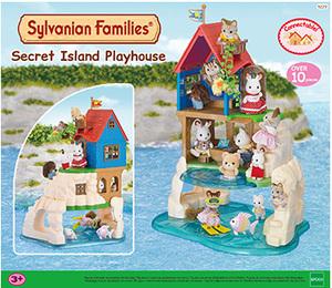 Sylvanian Families Secret Island Playhouse 5229A2