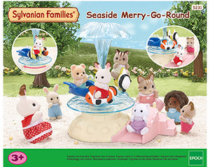Sylvanian Families Seaside Merry Go Round 5231