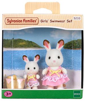 Sylvanian Families Girls Swimwear Set 5233A2