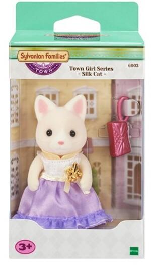 Sylvanian Families Town Girl Series - Silk Cat 6003A4