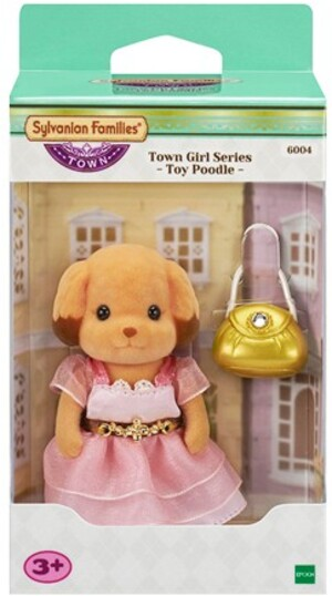 Sylvanian Families Town Girl Series - Toy Poodle 6004A8