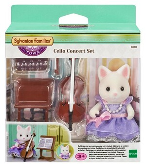 Sylvanian Families Cello Concert Set 6010A1