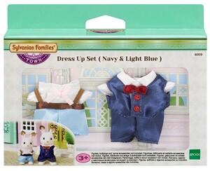 Sylvanian Families Dress up Set Navy & Light Blue 6019A1