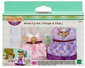 Sylvanian Families Dress up Set Purple & Pink 6020A3
