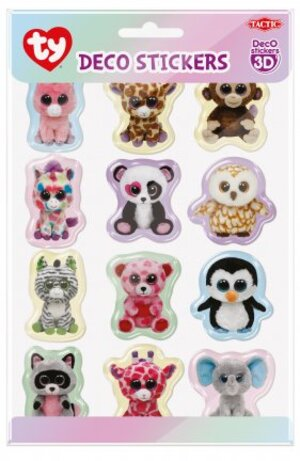 Tactic Games Ty Beanie Boos Deco Stickers 12 Stück 53284